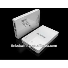 with ROSH/CE powerful portable superman power bank in factory price