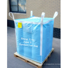 Big Bag avec Inter Buffle pour l'emballage du dioxyde de titane
