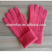 China Lieferant Verschiedene 100% Winter Kaschmir Handschuhe Preis