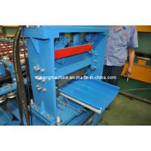 Máquina formadora de rolos de costura de suporte