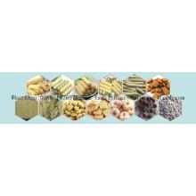 100-450kg / h linha de processamento de alimentos lanches