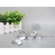 25ml frasco de embalagem de alumínio cosmético com Snap-on Cover (PPC-ATC-023)