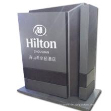 Pylon-Zeichen-Ausstellungsstand mit LED Lightbox als Werbungs-Ausrüstung