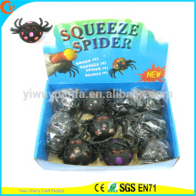 Hot Selling Novelty TPR Squeeze Spider Ball Toy