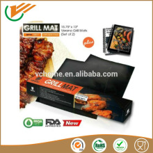 Custiom size Set of 2 BBQ Grill Mats Best Barbecue Tool on the Market-Make Grilling Easier