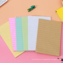 Personalizado Impresso Die Cut Bookmark Sticky Notes Memo Pad