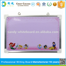 Wall hang magnetic whiteboard