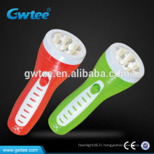 Lampe torche rechargeable à main en plastique GT-8106