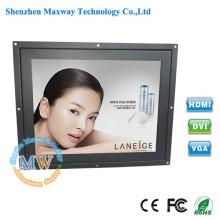 """Quadro aberto 10,4 """"polegadas monitor de tela de toque VGA TFT LCD com fonte de alimentação 12v"""