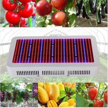 El espectro completo 600W LED crece la luz para la planta floreciente y el sistema de hidroponía Lámparas de la planta del LED AC85 ~ 265V