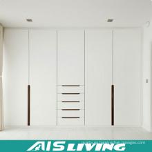 Laca brillante alta blanca extraiga el armario ropero de la puerta (AIS-W479)