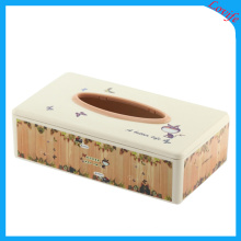 Rectangle Plastic Tissue Boxes for Home