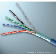 Ftp cat5e cabo enrolado ethernet coil cabo cabo de rede cat5e