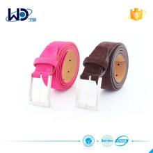 New arrival Soft Suede Leather unisex belt golf belt