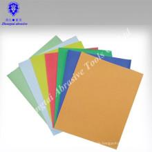 Hochwertiges trockenes, farbenfrohes Schleifpapier mit vielen Größen
