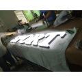 Im Freien wasserdichte große belichtete Kanal-Acrylbuchstaben