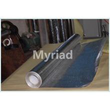 Doble lado de aluminio tejido de tela con aislamiento de recubrimiento de PE fabricante