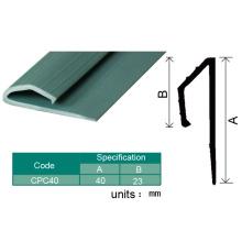 Guarnição plástica da borda do assoalho do vinil do PVC / tiras de afiação do revestimento