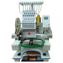 Única cabeça misturada computadorizada máquina de bordar