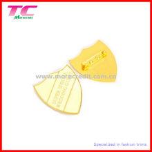 Hotspot Fashion Shiny Gold Alloy Pin Badge