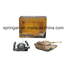 R / C Tank (gouvernail) Jouets en plastique militaire