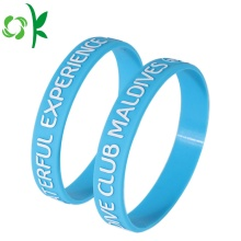 Huruf kapital Custom Made Bracelet Band Langit Biru