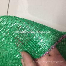 drawstring tubular mesh bags for vegetables & fruits