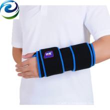Productos de rehabilitación Atletas usan nylon Terapia de materiales Abrigo de mano Caliente frío