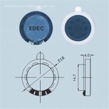 18 mm 8 Ohm 1 W tragbarer Lautsprecher für medizinische Instrumente