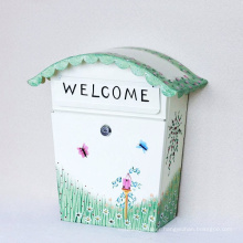 Hand Painting Mailbox Letterbox Post Box