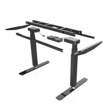 Mesa de escrivaninha moderna com estrutura elétrica ajustável para pernas
