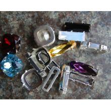 Perles fantaisie en verre décoratives sans plomb de pierre pour la fabrication de bijoux