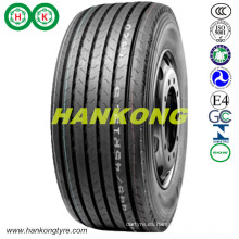 Ruedas de acero grandes neumáticos de remolque TBR neumático neumático de camión radial (385 / 65R22.5, 435 / 50R19.5, 445 / 45R19.5)
