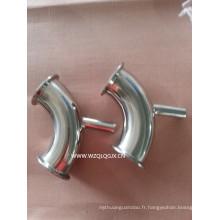 Tissu de raccordement de tuyaux sanitaires en acier inoxydable