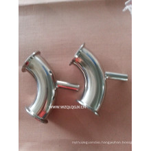 Y Type Stainless Steel Sanitary Pipe Fitting Tee