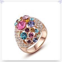 Мода ювелирные изделия из кристалла ювелирные изделия сплава кольцо (AL0023G)