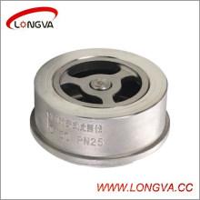 Válvula de retención Wafer de precio bajo Wenzhou Wenzhou