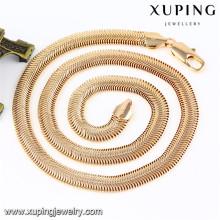 43085 Xuping gros haut de gamme mode nouveau design bijoux collier