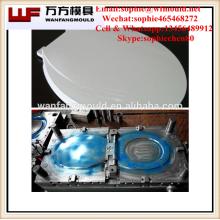Molde de la cubierta del asiento del inodoro del baño de inyección de plástico hecho en taizhou