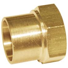 Unión de accesorios de tubería de latón (0357)