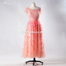 RSE705 Night Gown Evening Prom Dress Party Dress Crystal Embellishments For Short Beaded Sequin Prom Dress