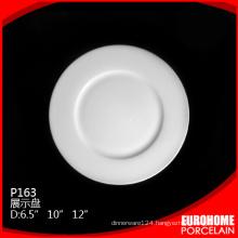 Strong resistance banquet ceramic dinnerware porcelain dish plate