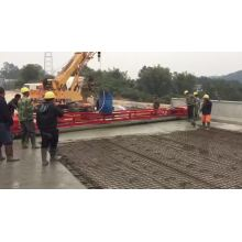 Concrete laser leveling machine