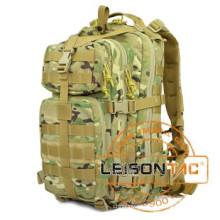 Тактический рюкзак принимает 1000D водонепроницаемая ткань и нейлона лямки, сшитые с капроновая нить