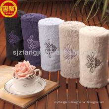 покрашенная пряжа 100%хлопок банные полотенца
