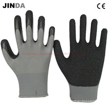 Latex Crinkle Coated Safety Work Gloves (LS214)