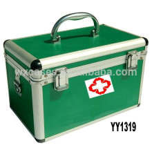 aluminum first aid kit box with 2 color options