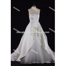 Sweetheart Puffy Wedding Dress 2017 Hand made flower bridal gown dress