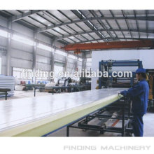 Nova condição e certificação ISO/CE e sanduíche de laminação a frio moinho tipo pu painel de linha de produção