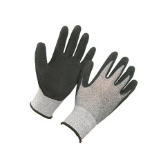 Top Quality Black Latex Safety Super Latex Working Gloves